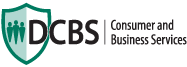 logo for the Department of Consumer and Business Services